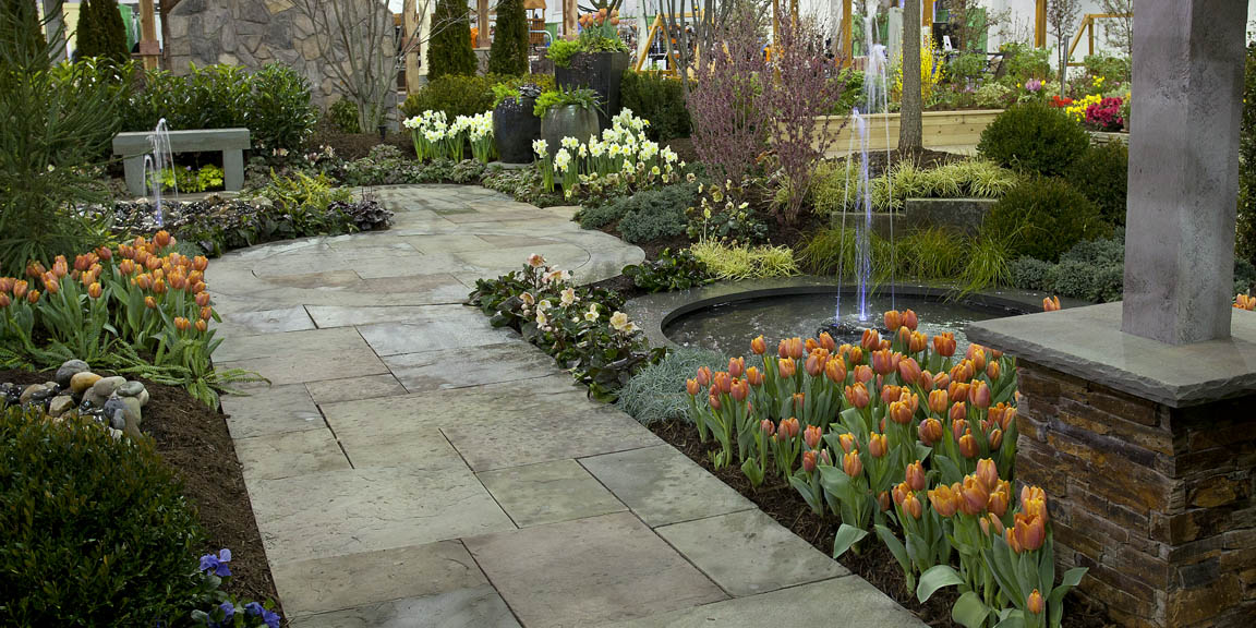Capital home and garden show february 22 24 west winds for Home garden landscape designs