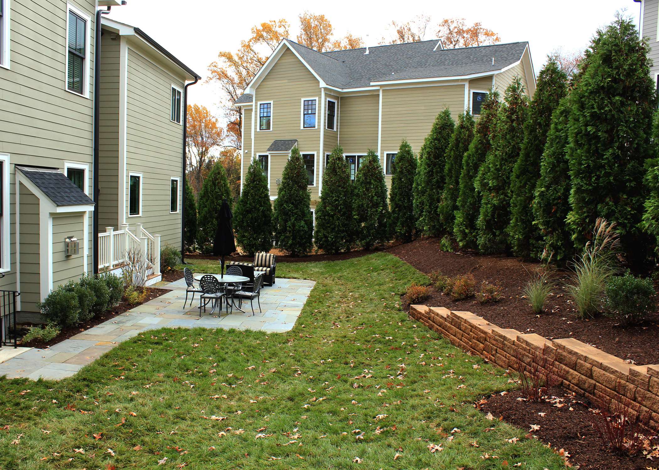 Instant Landscape Screen For This Northern Virginia